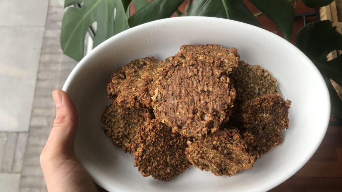 Banaan havermout koekjes (recept)