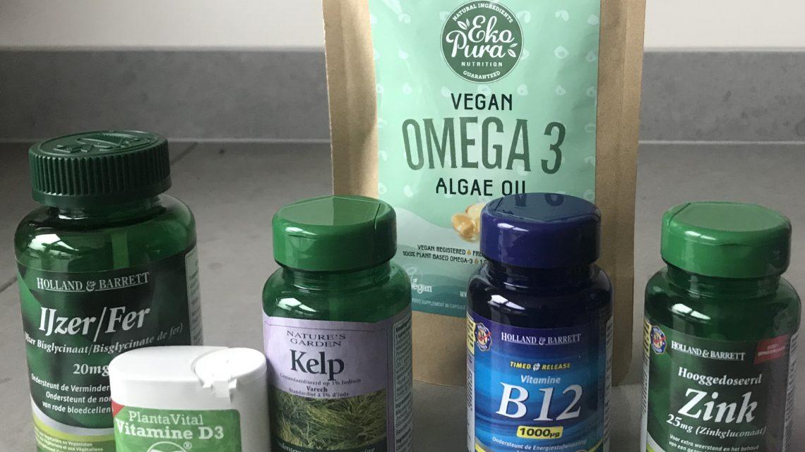Welke voedingssupplementen heb ik als veganist nodig?