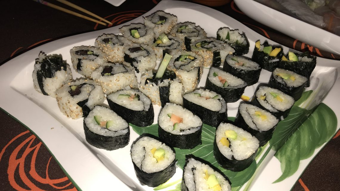 Vegan sushi (recept)