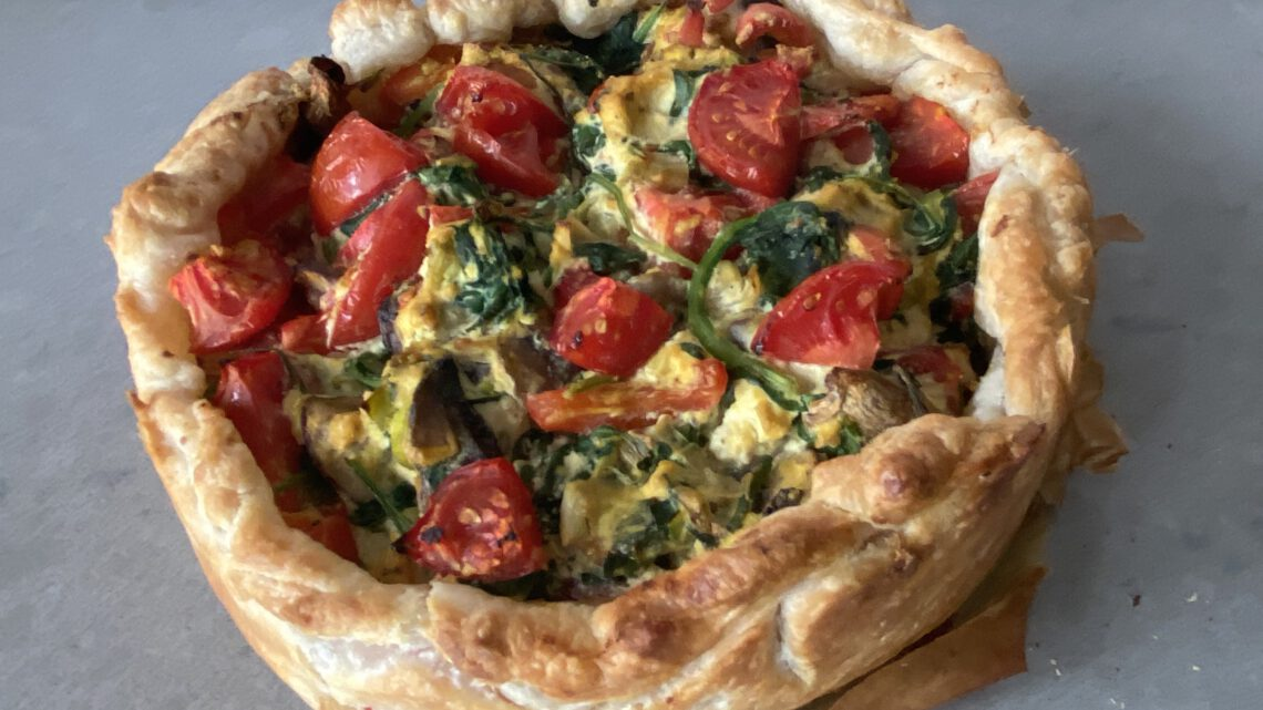 Vegan quiche (recept)