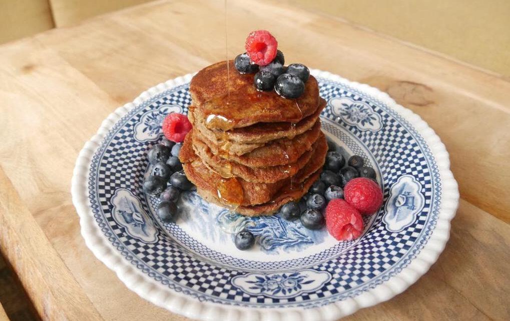 Gezonde vegan pancakes (recept)