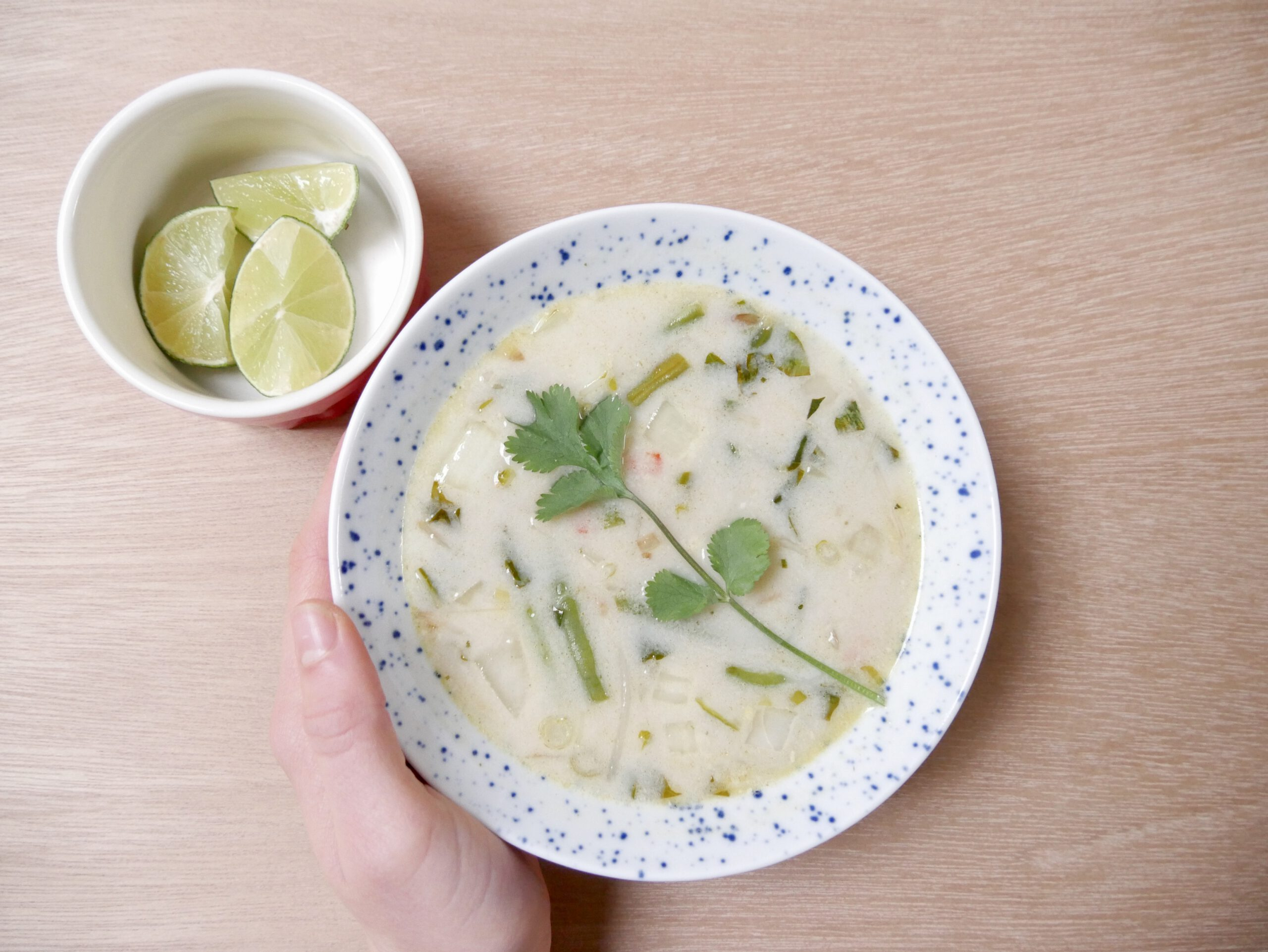 Vegan tom kha soep (recept)