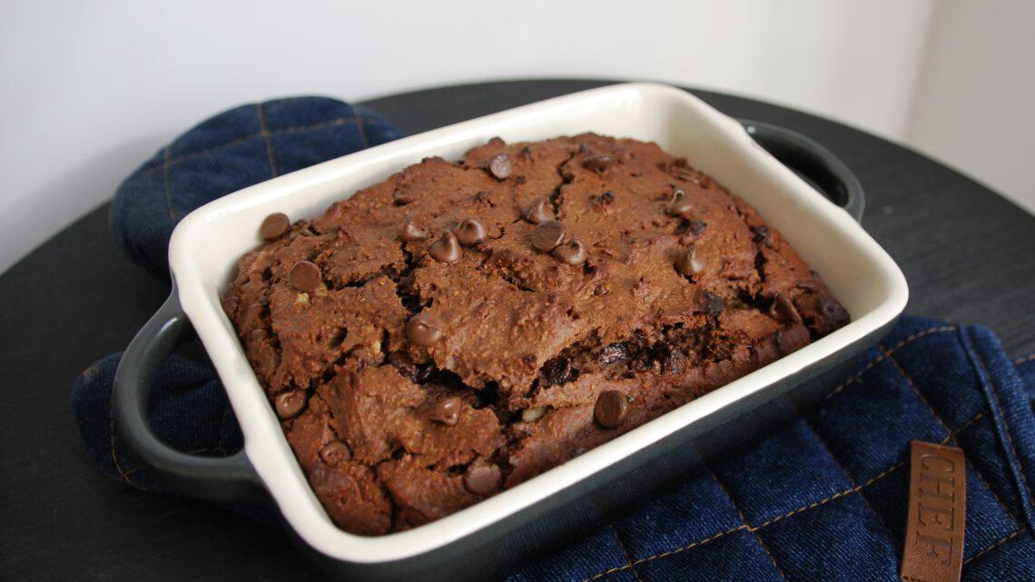 Gezonde vegan brownie (recept)