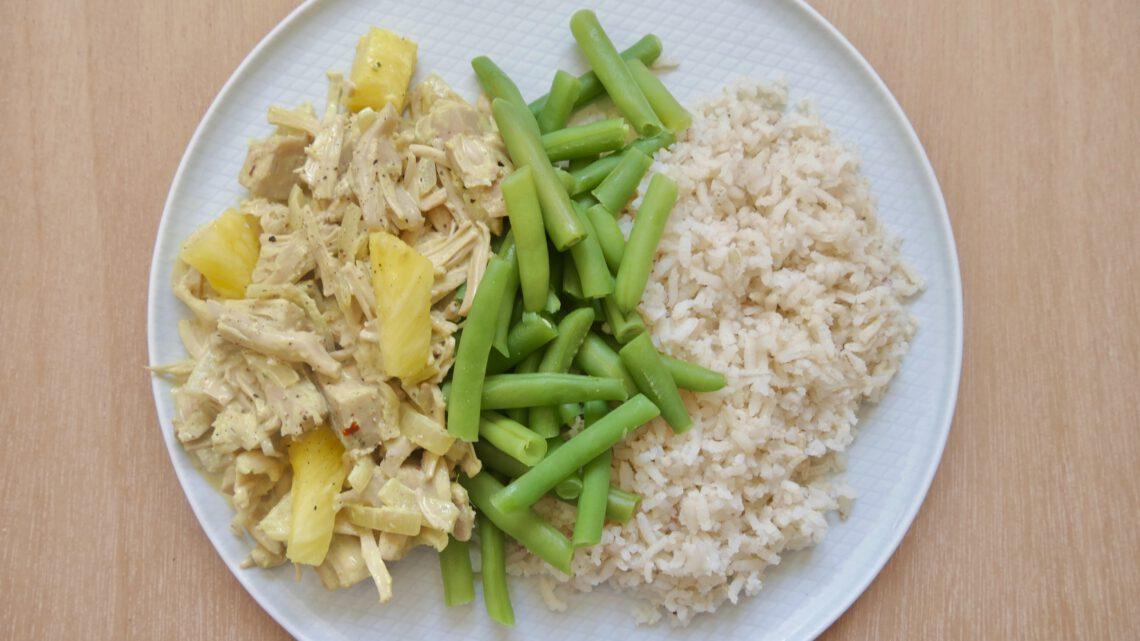 Vegan kip kerrie (recept)
