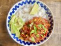 Vegan chili sin carne (recept)