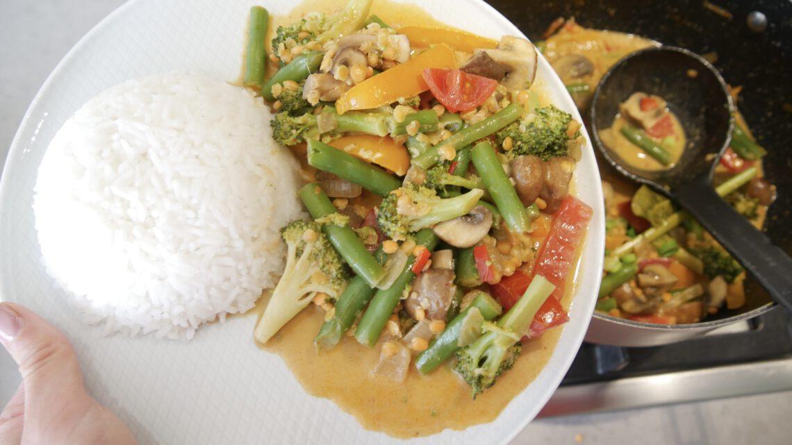 Vegan massaman curry (recept)